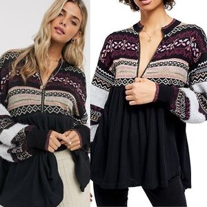 ✨HOST PICK✨ NWT Free People Cozy Cottage Sweater